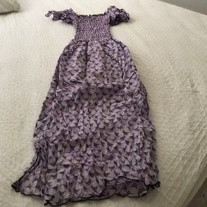 Dresses & Skirts - Cute rib lavender dress . A must sell today .